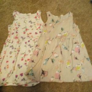 2 toddler dresses